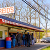 JOED VIERA/STAFF PHOTOGRAPHER-Lockport, NY- Patrons line up outside of Reids.