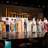 Joed Viera/Staff Photographer-The cast of Lockport High School's produciton of 'How to Succeed in Business Without Really Trying'  rehearse Monday night.