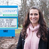 Joed Viera/Staff Photographer-Lockport Wellness office manager and nutritionist Stephanie Caputo outside of their offices Friday afternoon.