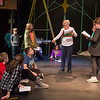 "Joed Viera/Staff Photographer-Peg Merrill directs kids in "" The Best Christmas Pageant Ever"" rehearsal at the Taylor Theatre. Merrill, along woth the Carraige house players are putting on the the production, which is their second play in the theatre."
