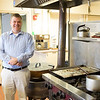 Joed Viera/Staff Photographer- <br /> Pastor Hardy in the Church Kitchen.