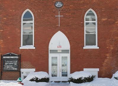 Joed Viera/Staff Photographer Lockport, NY-Lockport's First AME church on 123 South Street.