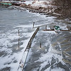 JOED VIERA/STAFF PHOTOGRAPHER-Olcott, NY-A view of a frosty Newfane Marina early Friday evening.