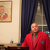 JOED VIERA/STAFF PHOTOGRAPHER-Lockport, NY- Richard Luco, a member of the Red Jacket Masonic Lodge inside the Lodge's bar.