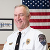 Joed Viera/Staff Photographer- Middleport Police Chief John Swick has been working for the department for 40 years.