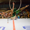 Joed Viera/Staff Photographer-Disa Carneol from Cirqovation demonstrates her Aerial Artistry.