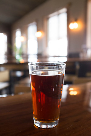 Joed Viera/Staff Photographer- Live Edge Brewing Company's Irish Cherry Red Ale.