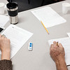 Joed Viera/Staff Photographer- Students work on their punctuation during the ESOL class at BOCES.