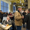 JOED VIERA/STAFF PHOTOGRAPHER-A crowd of supporters gather for the second Pints for Progress event at the Cornerstone Arena.