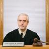 Joed Viera/Staff Photographer-Retiring Town Judge Gregory Bass.