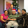 JOED VIERA/STAFF PHOTOGRAPHER-Lockport, NY-Cristal Nuñez, Yeshua Robles, Roberto Nuñez, Yelian Robles and Neftali Nuñez at Orchard Manor in Medina.