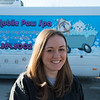 Joed Viera/Staff Photographer-Jen Seabert outside her mobile pet spa.