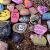 Joed Viera/Staff Photographer-Starpoint Regan Intermediate School students Kindness Rocks display.