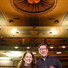 Joed Viera/Staff Photographer-Ellen and Dr. Jeffrey Schratz are excited to start Act II, the second phase in  the restoration of Historic Palace Theatre.