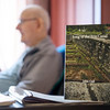 """JOED VIERA/STAFF PHOTOGRAPHER-Gasport, NY-Author John Cull's latest publication """"Song of the Erie Canal"""" in his residence at Absolut Care of Gasport."""