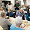 JOED VIERA/STAFF PHOTOGRAPHER-Gasport, NY-The Johnson Creek Seniors get together for their bi-monthy Meeting Wednsday Afternoon at the Hartland Volunteer Company's hall.