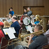 Joed Viera/Staff Photographer- The Sanborn Fire Company Band rehearses during thier annual recruitment night Monday evening. The band played scores from everything from Beauty and the Beast to Star Wars. The band makes close to 25 public appearances a year.