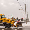 JOED VIERA/STAFF PHOTOGRAPHER-Lockport, NY-A DOT plow truck turns onto Transit Road.