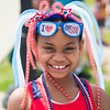 JOED VIERA/STAFF PHOTOGRAPHER-Lockport, NY-Aurhianna Robinson, 8, at Lockport's Memorial Day Parade.