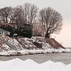 Joed Viera/Staff Photographer-A view of the Lake Ontario shoreline at Olcott.