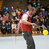 Joed Viera/Staff Photographer-Nels Ross dazzles the crowd with a chinese yoyo performance.