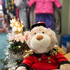 "Joed Viera/Staff Photographer-A teddy bear soldier stands guard at Santa's Sleigh, a toy store for the underprivileged at St John Outreach Center. Anyone registered at St. John's Food Pantry is automatically eligible to ""shop"" through the store and pick out donated gifts free of charge. In addition they are provided with free stocking stuffers, wrapping paper and a bow. Starting Monday, anyone who is income eligable is able to sign up to shop at Santa's Sleigh. For more information contact St. John's Outreach at (716) 433-5252"