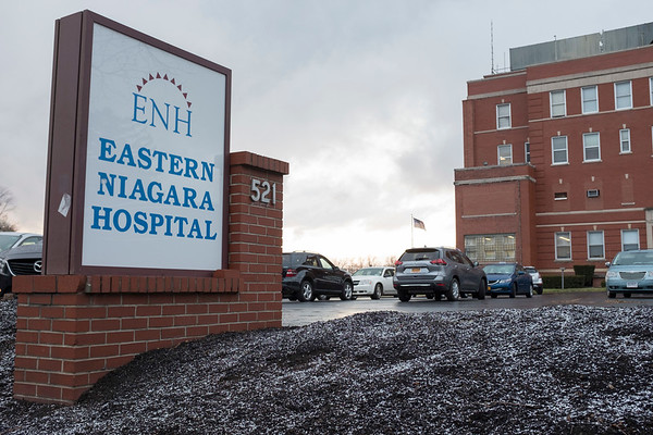 Joed Viera/Staff Photographer-Eastern Niagara Hospital announced plans for building a new emergency room.