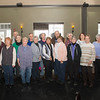JOED VIERA/STAFF PHOTOGRAPHER-Lockport, NY-Lockport High School's graduating class of 1961 meets fo their monthly luncheon at Lock 34 Bar and Grill.