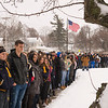 JOED VIERA/STAFF PHOTOGRAPHER-Lockport High School student participate in a nationwide walk-out that is being held in honor of the one month anniversary of the school shooting in Parkland, Florida.