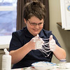 JOED VIERA/STAFF PHOTOGRAPHER-Lockport, NY-Luke Giertz 11 plays with slime at the Middleport Community Library.