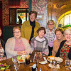 Joed Viera/Staff Photographer-Lockport High School Class of 1959 graduates Janet Engel, Maria Perry, Vicki Pappas,Thelma Walker, Patti Few, Jean Skop and Donna Santarsiero meet for lunch at Sean Patrick's along the Millersport Highway for their montlhy meeting