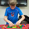 JOED VIERA/STAFF PHOTOGRAPHER-Jackson Schnackel, 8, dropped in on the LEGO Club at Royalton Hartland Community Library on Wednesday. The library will host the free club on Wednesdays at 4 p.m. through mid-May.