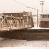 JOED VIERA/STAFF PHOTOGRAPHER-Gasport, NY-Snow falls over the Gasport Lift Bridge Thursday afternoon.