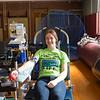 Joed Viera/Staff Photographer-Natalie Menz, 18, donates blood at a Unyts event at Barker High School.