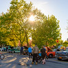 JOED VIERA/STAFF PHOTOGRAPHER-Lockport, NY-  Ida Fritz Park hosts the year's first Monday Night Car Cruise.
