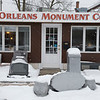Joed Viera/Staff Photographer- Orleans Monument Company is celebrating it's 40 year aniversary.