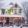 Joed Viera/Staff Photographer- A joyful house on Lockport-Olcott Road is decorated for the holidays.