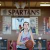 Joed Viera/Staff Photographer-Liz Bradley practices at Starpoint Middle School.