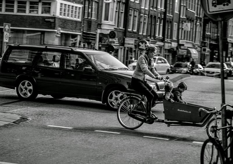 Street Portrait Working Mother