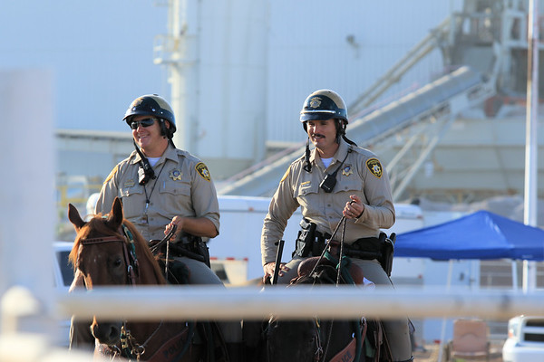 LVMPD Mounted Unit Demonstration 2016