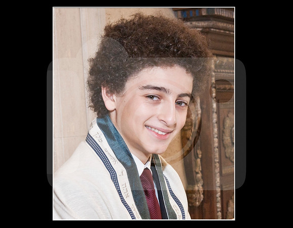 Alon Bar Mitzvah Photo Book