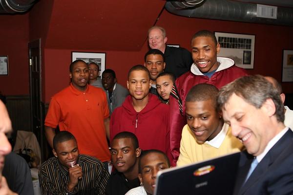"Mt. Vernon Basketball Team & Dr. ""K"""
