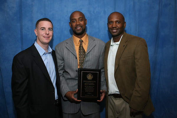 Frenji Sports w/former professional basketball player<font color = gold> Kenny Anderson</font> - Night for the Kids, November 21, 2008