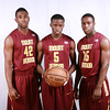 Brandon White (Forward), Jabarie Hinds (Guard) and Sidney Hedge (Guard)