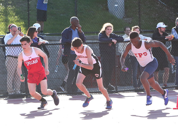 Mens 4X400 Relay  (Friday)
