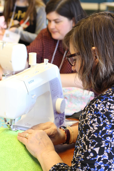 LWR Quilting Day with Women of the ELCA Churchwide office, Chicago |