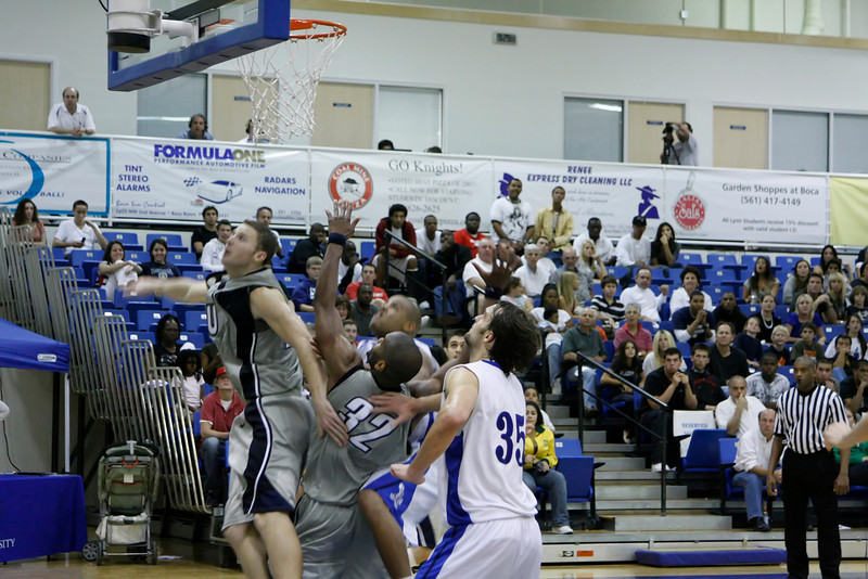 Lynn University Mens Basketball vs Nova -  (729)