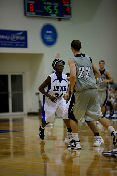 Lynn University Mens Basketball vs Nova -  (646)