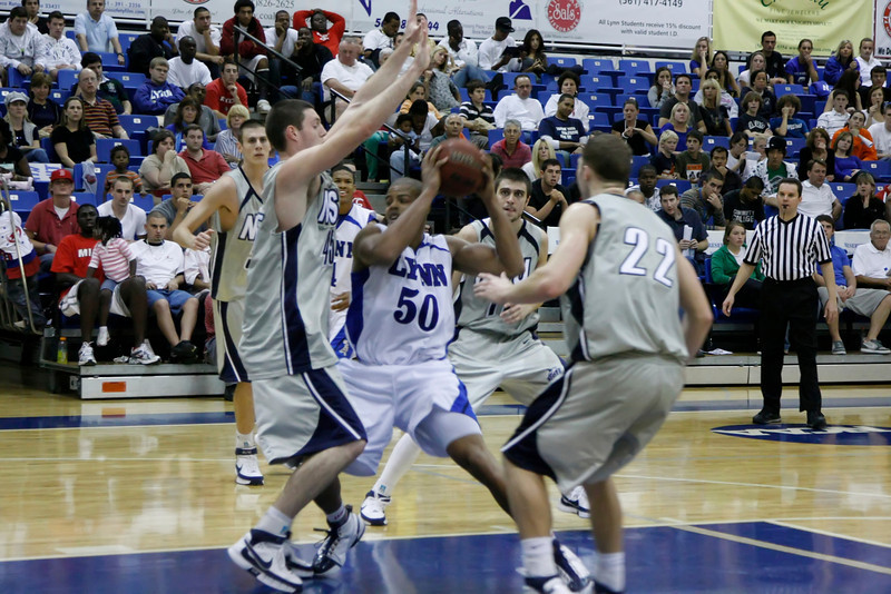 Lynn University Mens Basketball vs Nova -  (536)