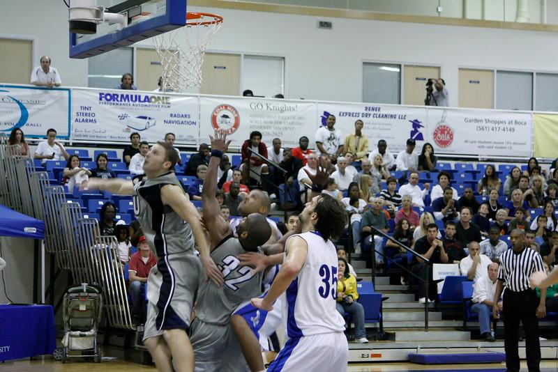 Lynn University Mens Basketball vs Nova -  (729)